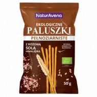 Sticksuri din cereale integrale cu sare roz de Himalaya eco 50g