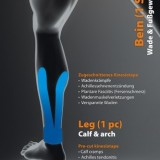 Bandă kinesiologica pentu gambă şi călcâi