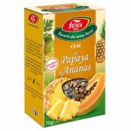 Ceai cu Papaya și Ananas, la pungă Fares