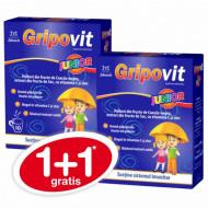 Gripovit junior 10 plicuri 1+1 GRATIS