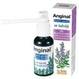 Anginal – Spray de gura cu Salvie Dr. Muller Pharma 30 ml