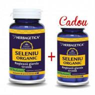 Seleniu Organic 60cps + 10cps Cadou Herbagetica