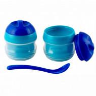 Set 2 boluri termosensibile cu lingurita