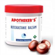 Crema cu Castane salbatice si frunza de vita de vie rosie 250ml