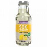 Apa de mesteacan cu lamaie 300ml 100 % natural