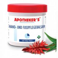 Balsam de ingrijire pentru maini si picioare cu Aloe Vera 250ml