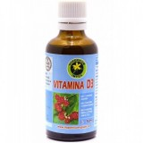 Vitamina D3 zmeura picaturi 50 ml Hypericum plant