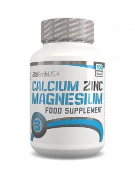 Biotech Calcium Zinc Magnesium 100caps