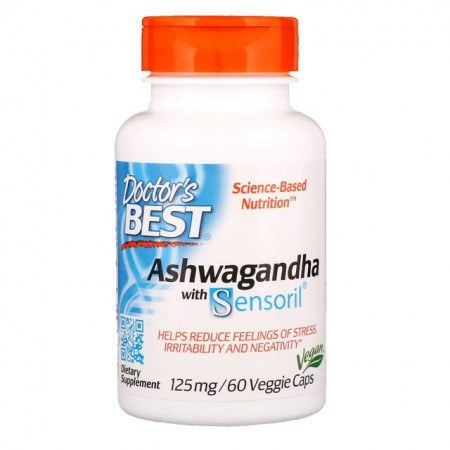 Doctor's Best-Ashwagandha-60caps