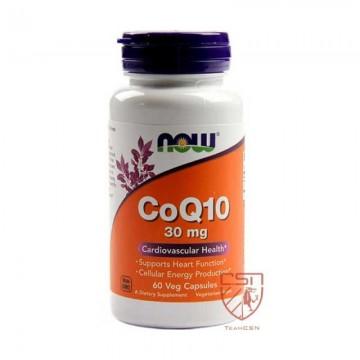 Now Foods - Co Q10 30mg - 60caps