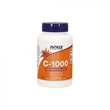 NOW VITAMINA C 1000 (100 tablete)
