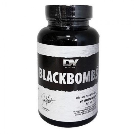 Dorian Yates Black Bombs 60caps