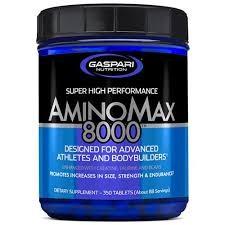 Gaspari Nutrition AMINOMAX 8000 325caps