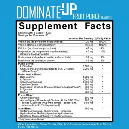 Ignite Nutrition Dominate-Up 444g