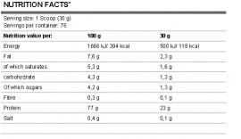 FA Whey Core 2,3kg