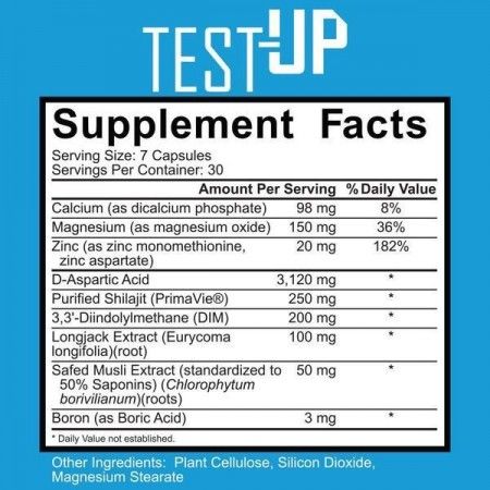 Ignite Nutrition Test-up 210cps