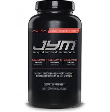 JYM Supplement Science Alpha 180caps