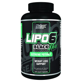 Nutrex Lipo 6 Black Hers Extreme Potency 120caps