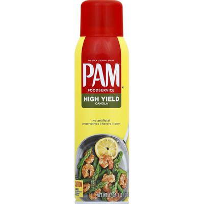 PAM - High Yield Canola Cooking Spray (ulei de rapita) - 481g