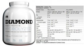 FA Diamond Hydrolysed Whey Protein 2,3kg