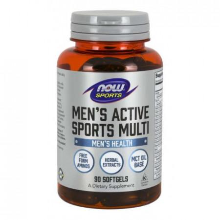 NOW - MEN'S ACTIVE SPORTS MULTI - 90 Softgels
