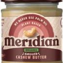 Meridian Foods - Unt de caju organic(Smooth/cruncky) - 170g