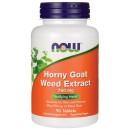 Now - Horny Goat Weed Extract (Epimedium - iarba tapului) - 90 Tablete