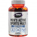 NOW - MEN'S ACTIVE SPORTS MULTI - 180 softgels