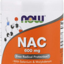 Now - NAC 600mg - 250 capsule vegane