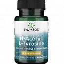 Swanson - N-acetil L-tirozina 350mg (N-acetyl L-tyrosine) - 60 capsule