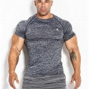 Kevin Levrone T-SHIRT 01 LM COMPRESSION DARK FREY