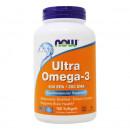 Now - Ultra Omega 3 - 180 capsule