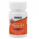Now - Vitamin D3 10000 iu (Vitamina D3) - 120 softgels