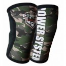 Power System Fase de Genunchi Knee Sleeves Camo PS-6032