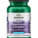 Swanson - Triple Magnesium Complex 400mg - 30 capsule
