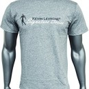 Kevin Levrone Signature Series Double V-Neck T-Shirt – Model 03 – Grey