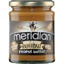 Meridian Foods - Unt de arahide (peanut butter) Rich Roast (Smooth/Crunchy/SuperCrunchy) - 280g