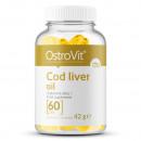 Ostrovit - Cod liver oil (ulei din ficat de cod) - 60 capsule