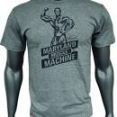 Kevin Levrone Signature Series Double V-Neck T-Shirt – Model 02 – Grey