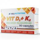 Allnutrition - VIT D3+K2 - 30 caps (Exp. 03.2022)