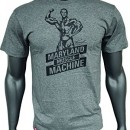 Kevin Levrone Signature Series Double V-Neck T-Shirt – Model 02 – Grey