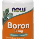 NOW - Boron 3mg - 100 capsule