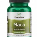 Swanson - Maca 500mg (Extract 4:1) - 60 capsule