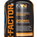 Molecular Nutrition - X-factor (Catalizator anabolic) - 100 softgels