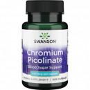 Swanson - Crom picolinat (chromium picolinate) 200mcg - 100 capsule