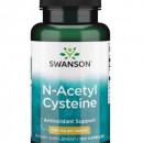 Swanson - NAC (N-acetil-cisteina) 600mg - 100 capsule