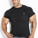 Kevin Levrone T-SHIRT 01 LM COMPRESSION BLACK