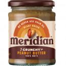 Meridian Foods - Unt de arahide (peanut butter)(Crunchy/Smooth) - 280g