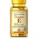 Puritan's Pride - Vitamina E-400 cu Seleniu 50mcg - 100 softgels