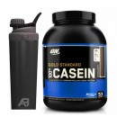 ON 100% Casein Gold Standard 1.8 kg + SHAKER METALIC AeroBottle 800ml
